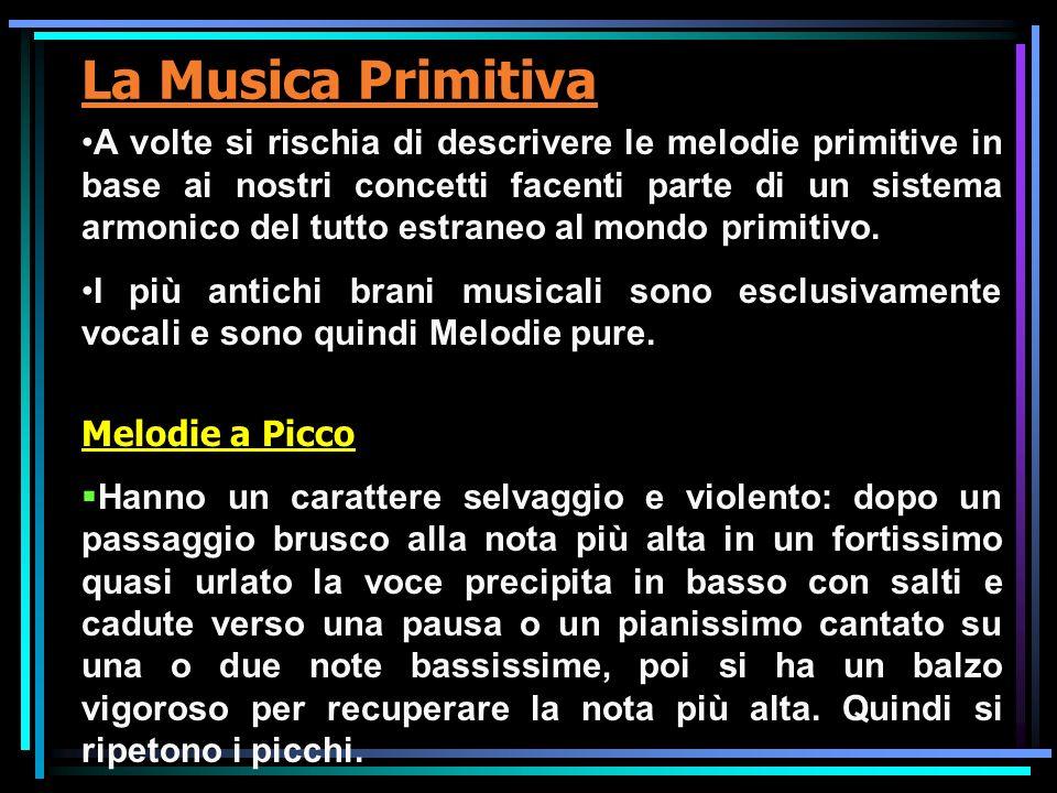 La Musica Primitiva