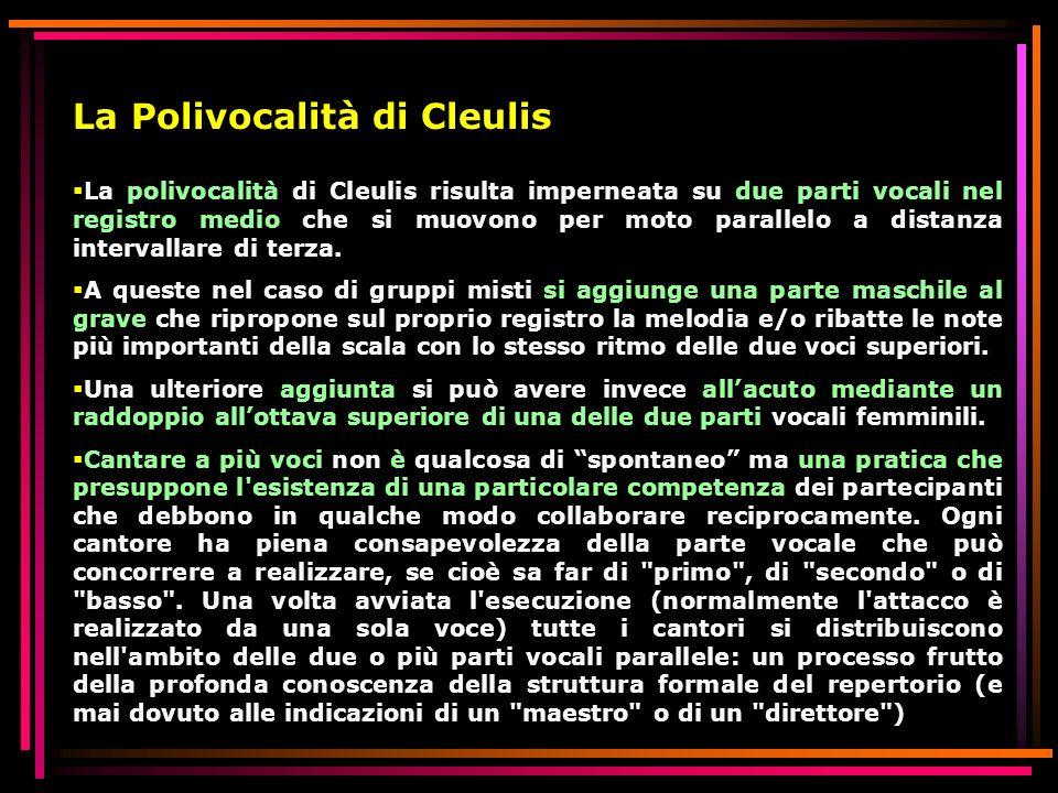 La Polivocalità di Cleulis