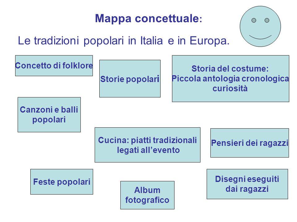Piccola storia del folclore e delle tradizioni popolari for Tradizioni di roma