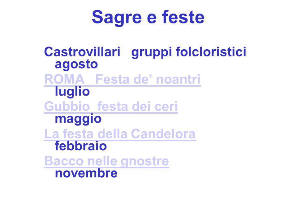 Sagre e feste Castrovillari gruppi folcloristici agosto