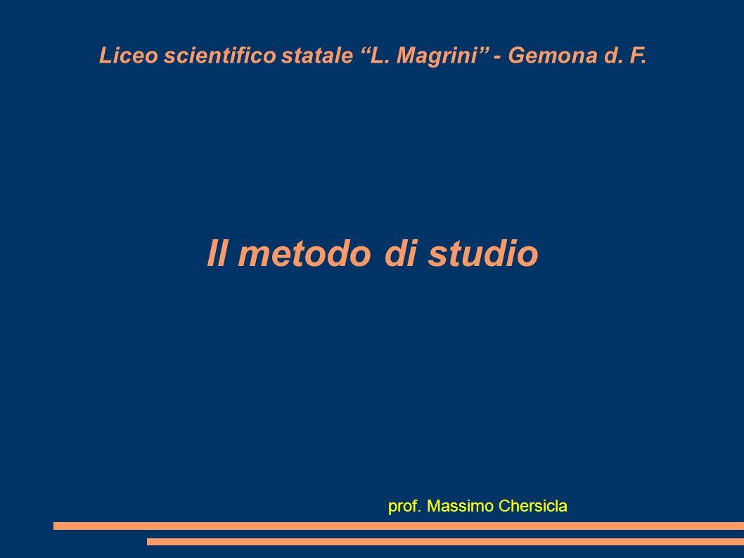 Liceo scientifico statale L. Magrini - Gemona d. F.