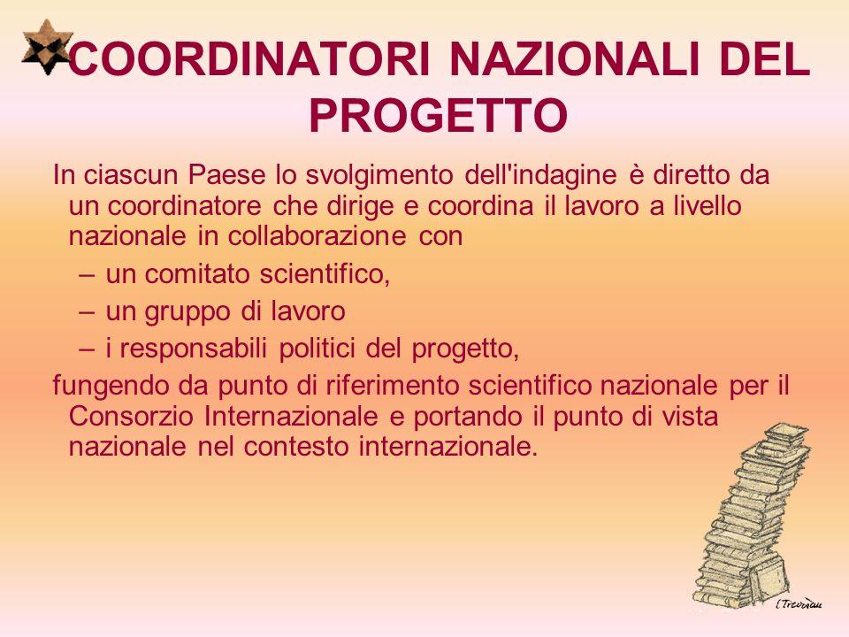 COORDINATORI NAZIONALI DEL PROGETTO