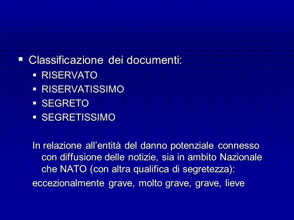 Classificazione dei documenti: