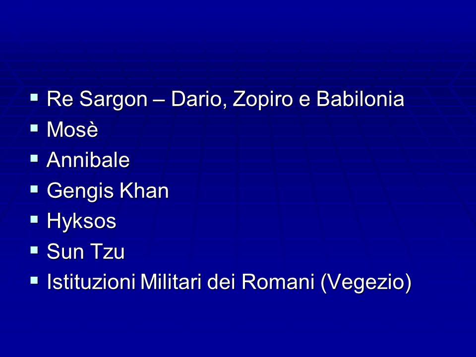 Re Sargon – Dario, Zopiro e Babilonia