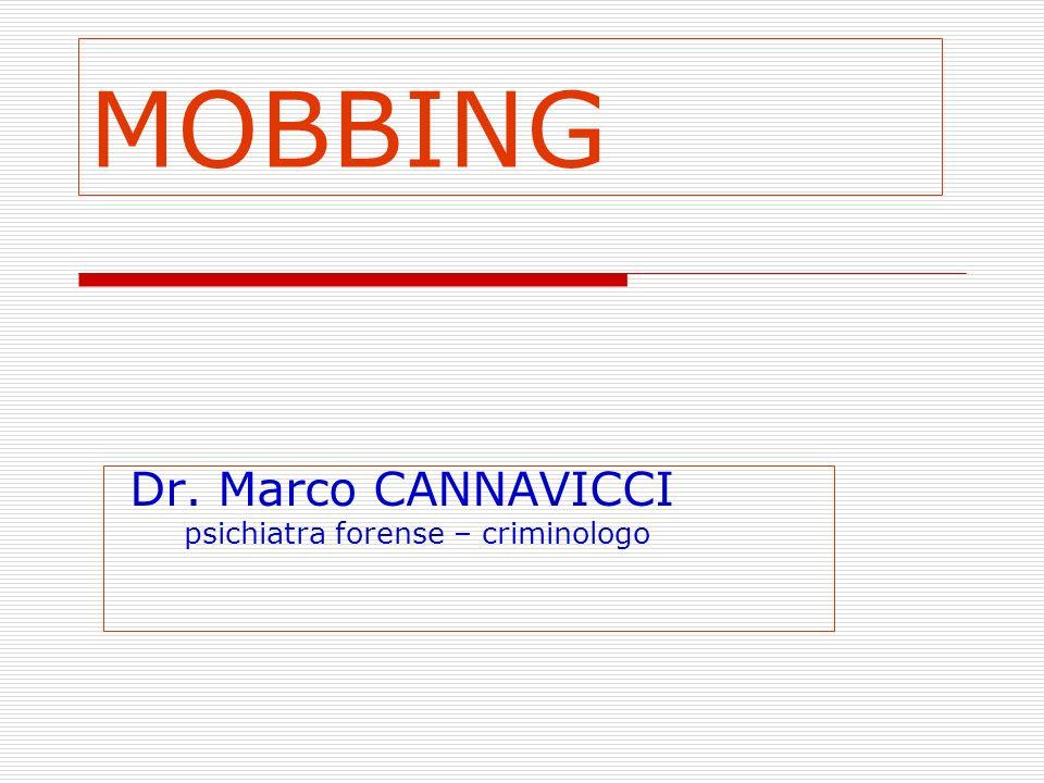 Dr. Marco CANNAVICCI psichiatra forense – criminologo