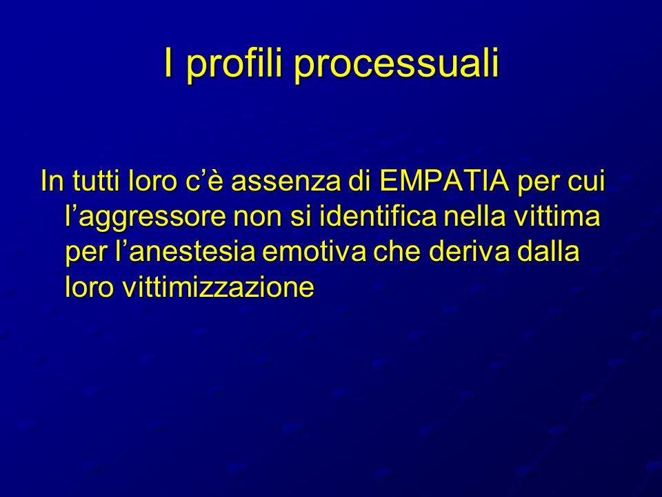 I profili processuali