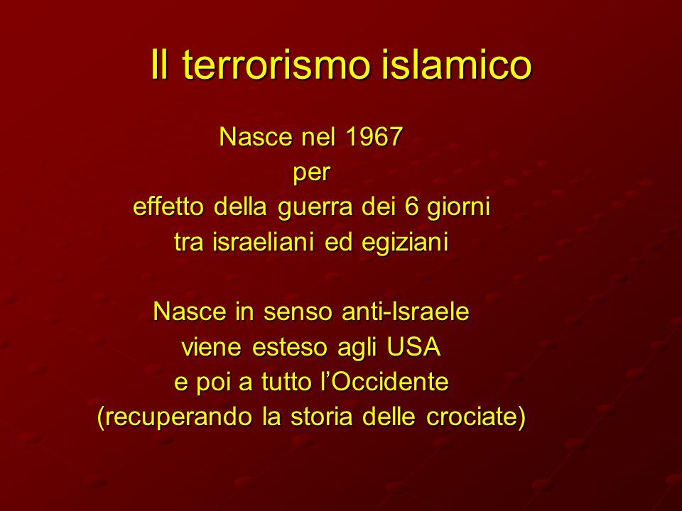 Il terrorismo islamico
