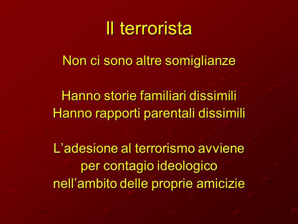 Il terrorista Non ci sono altre somiglianze