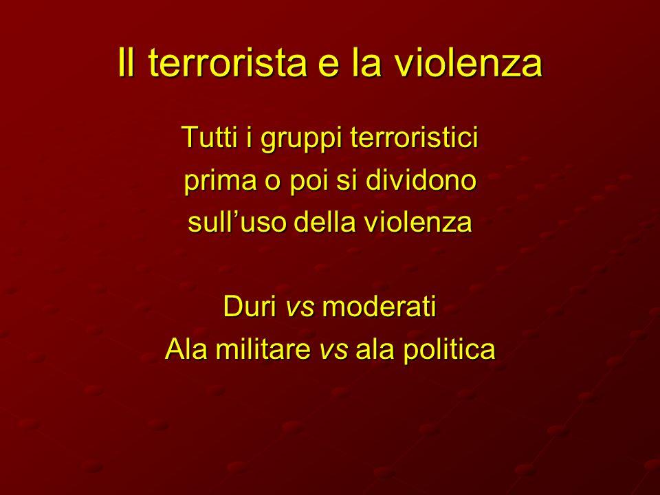 Il terrorista e la violenza
