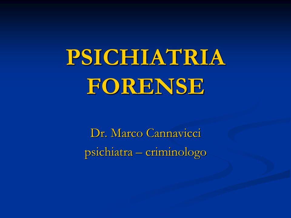Dr. Marco Cannavicci psichiatra – criminologo