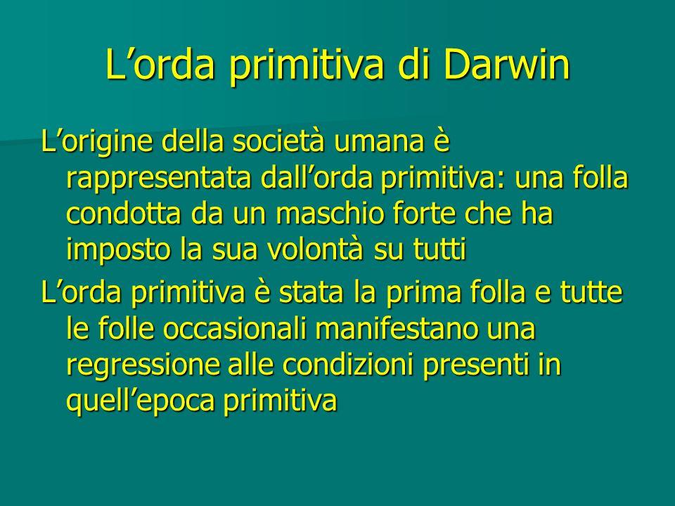 L'orda primitiva di Darwin