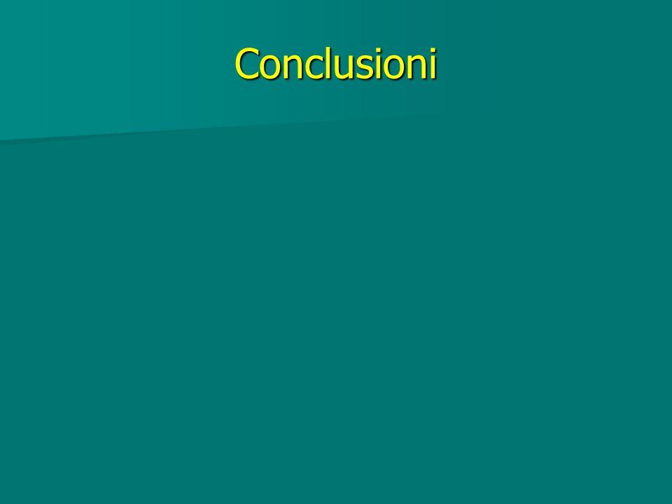 Conclusioni