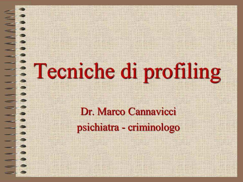 Dr. Marco Cannavicci psichiatra - criminologo