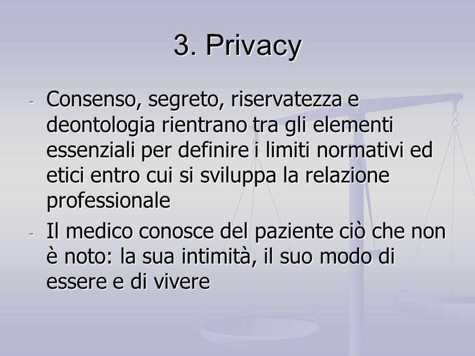 3. Privacy