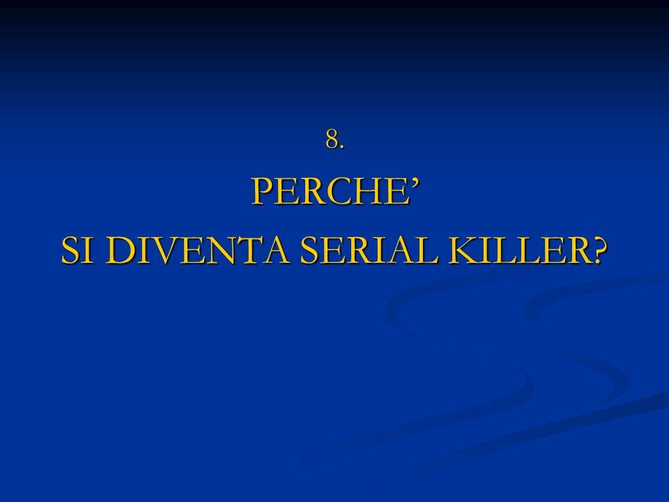 SI DIVENTA SERIAL KILLER