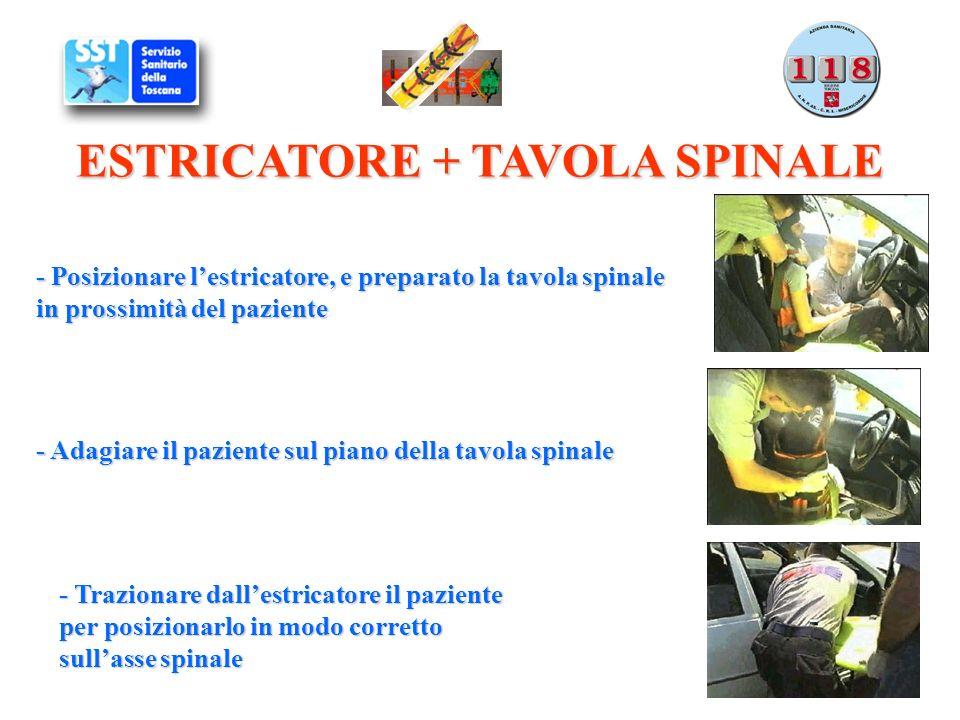 ESTRICATORE + TAVOLA SPINALE