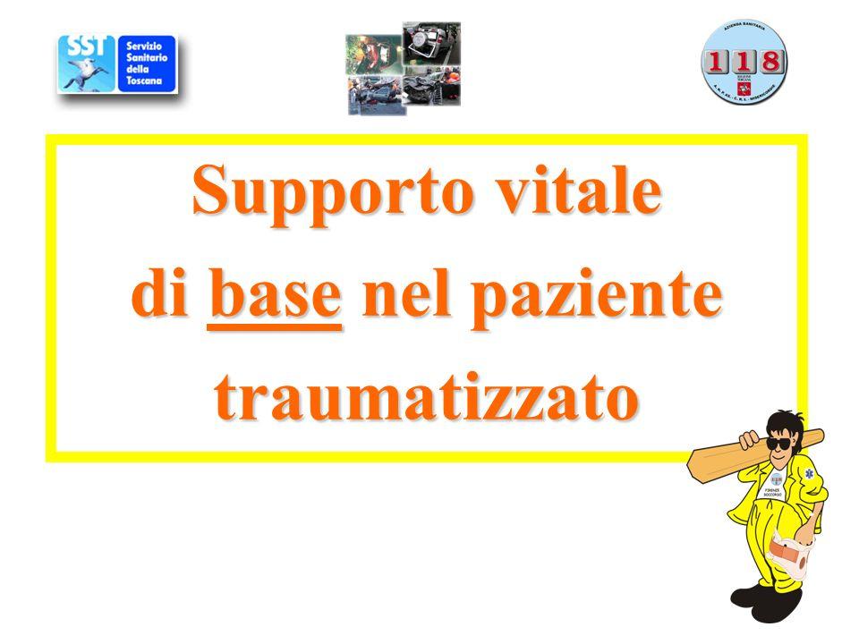 Supporto vitale di base nel paziente traumatizzato