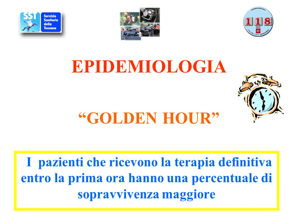 EPIDEMIOLOGIA GOLDEN HOUR