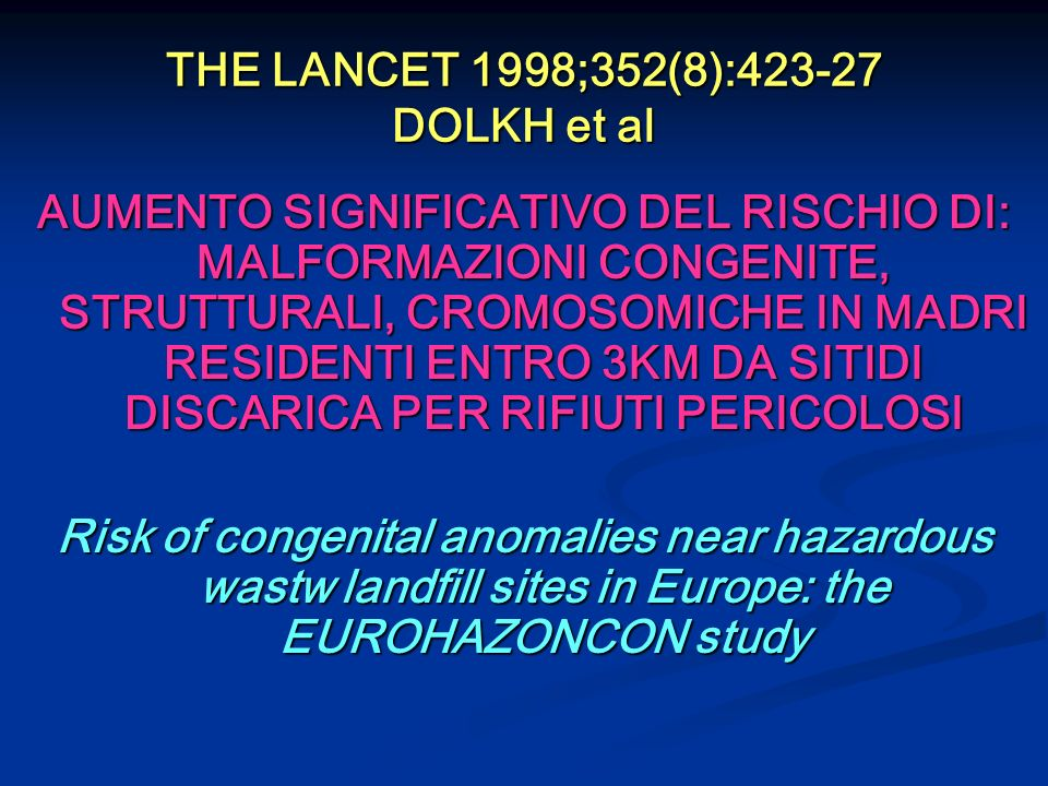 THE LANCET 1998;352(8):423-27 DOLKH et al