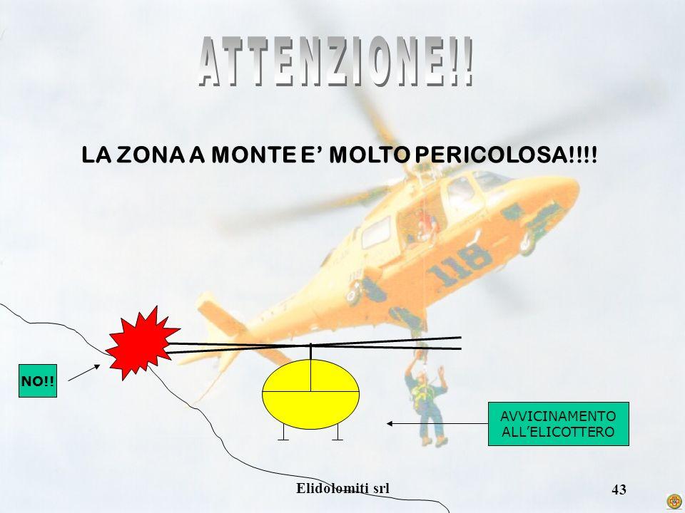 LA ZONA A MONTE E' MOLTO PERICOLOSA!!!!
