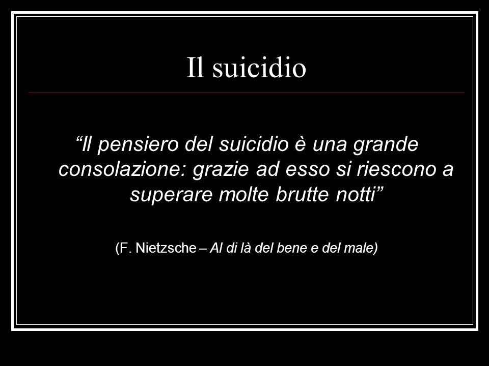 (F. Nietzsche – Al di là del bene e del male)