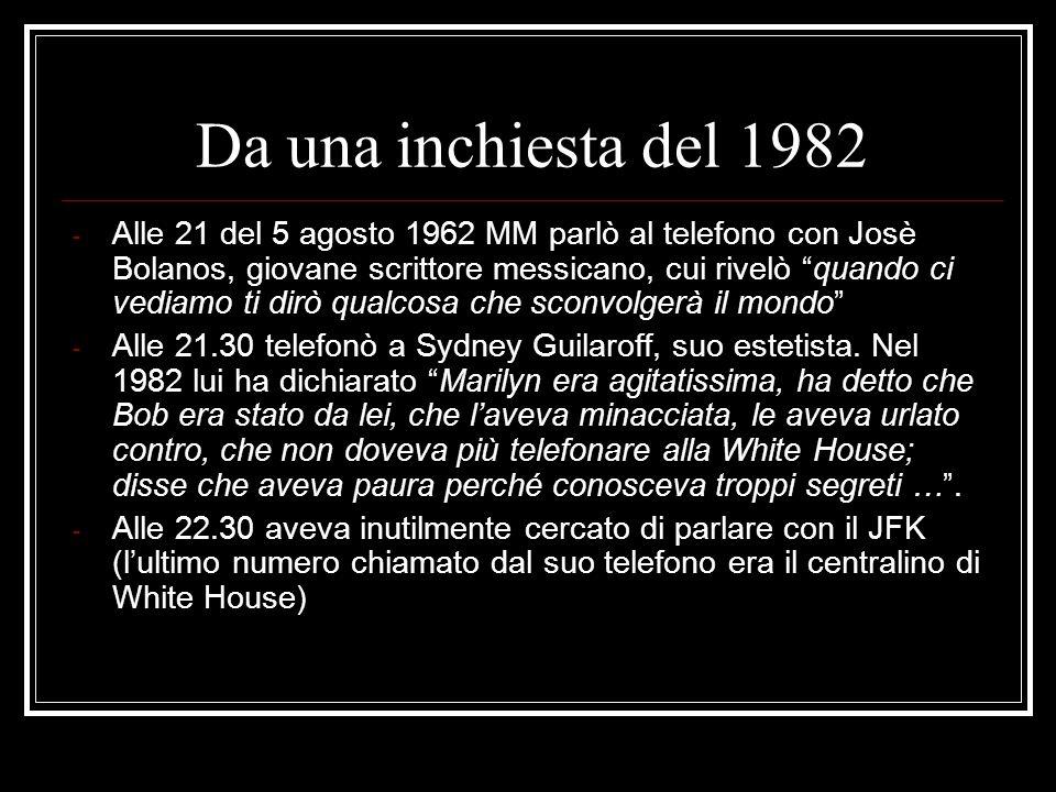 Da una inchiesta del 1982