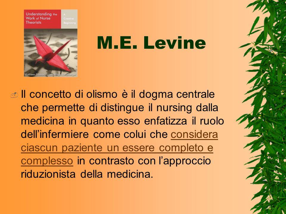 M.E. Levine