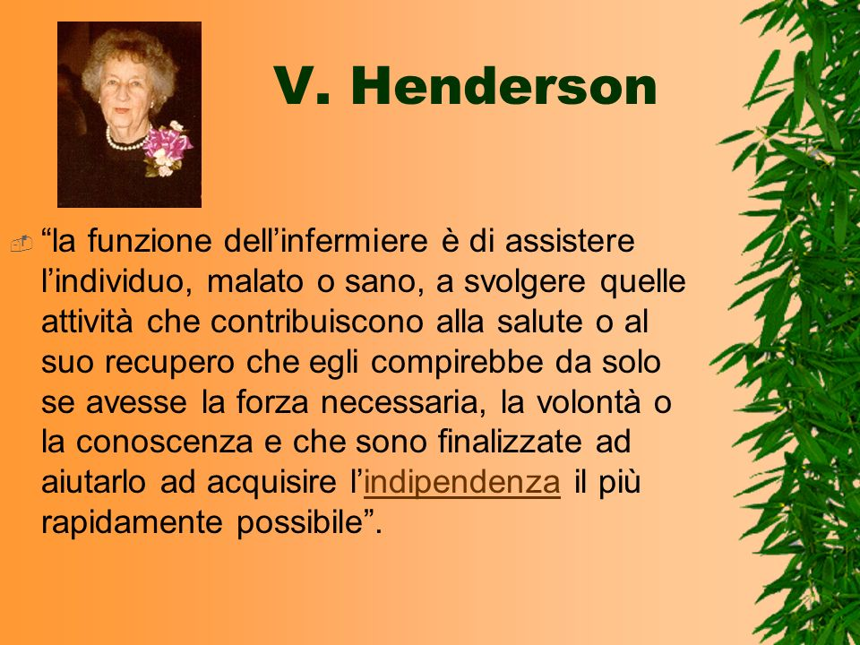 V. Henderson