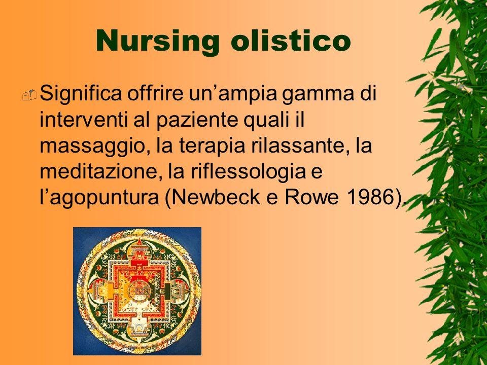 Nursing olistico