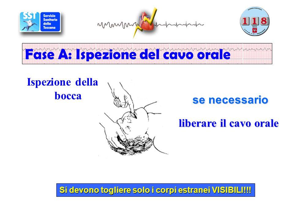 Fase A: Ispezione del cavo orale