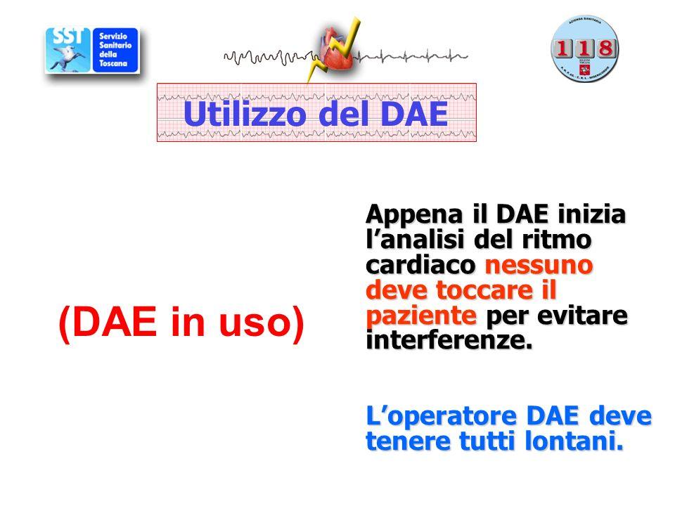 (DAE in uso) Utilizzo del DAE