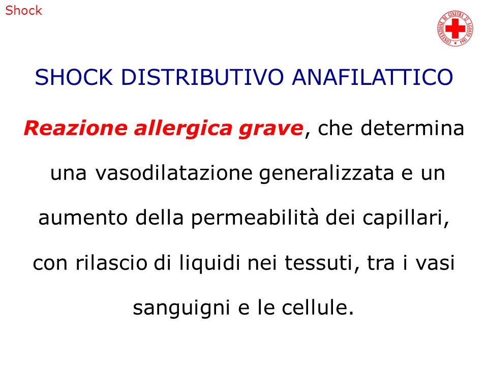 SHOCK DISTRIBUTIVO ANAFILATTICO