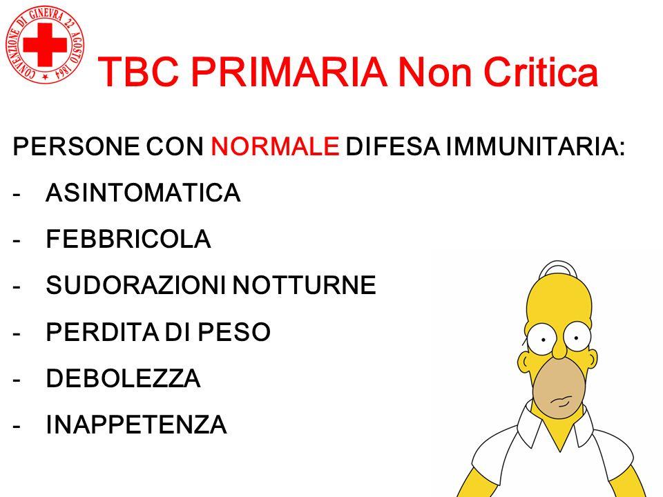 TBC PRIMARIA Non Critica