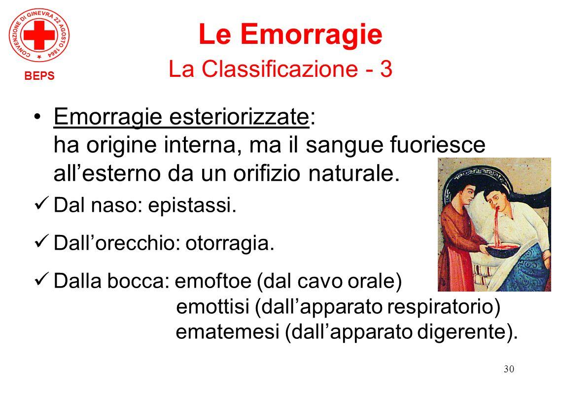 Le Emorragie La Classificazione - 3