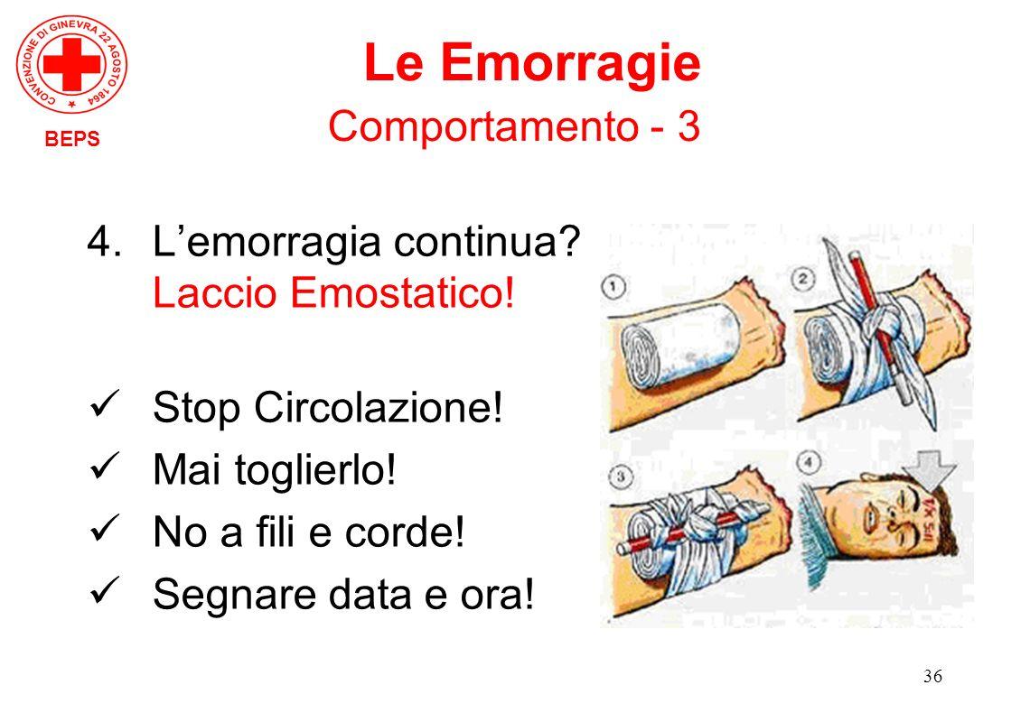 Le Emorragie Comportamento - 3