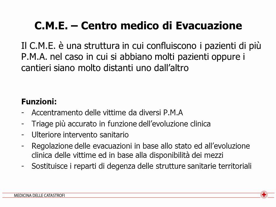C.M.E. – Centro medico di Evacuazione