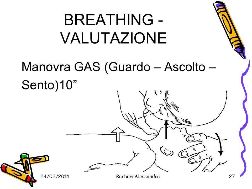 BREATHING - VALUTAZIONE