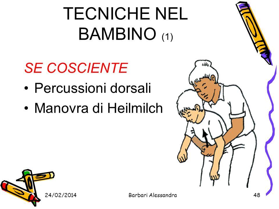 TECNICHE NEL BAMBINO (1)