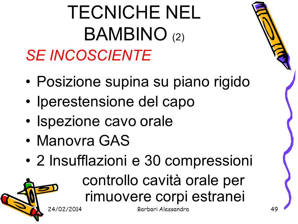 TECNICHE NEL BAMBINO (2)