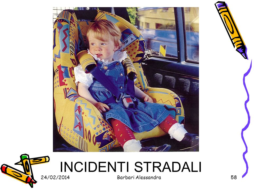 INCIDENTI STRADALI 27/03/2017 Barbari Alessandra