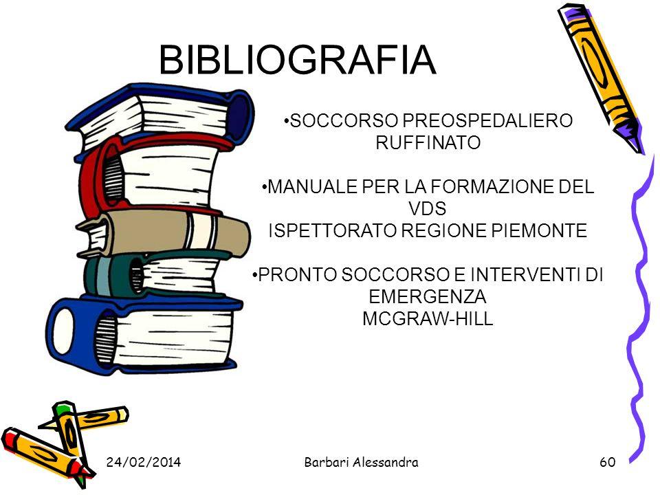 BIBLIOGRAFIA SOCCORSO PREOSPEDALIERO RUFFINATO