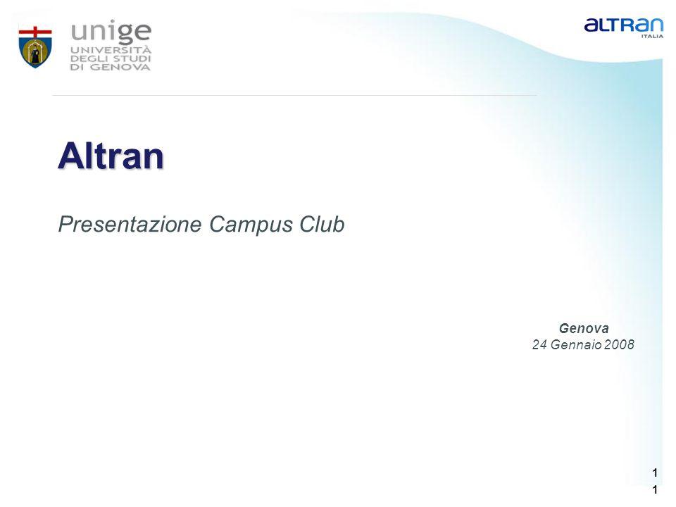Presentazione Campus Club