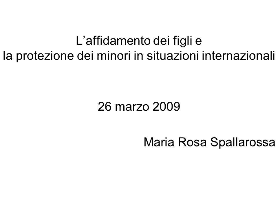 26 marzo 2009 Maria Rosa Spallarossa