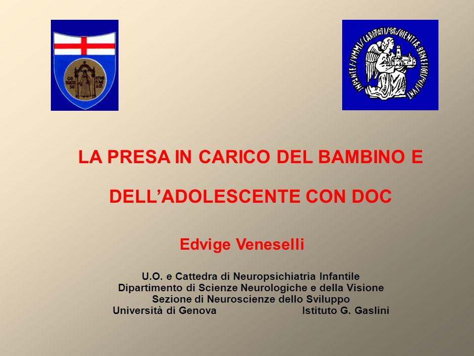 LA PRESA IN CARICO DEL BAMBINO E