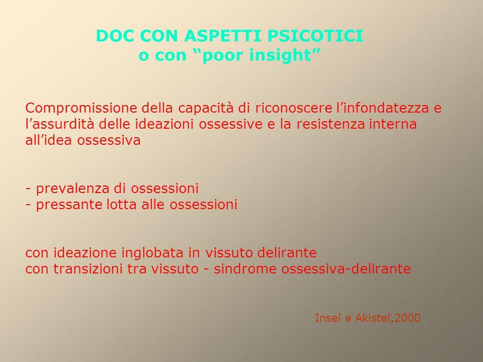DOC CON ASPETTI PSICOTICI