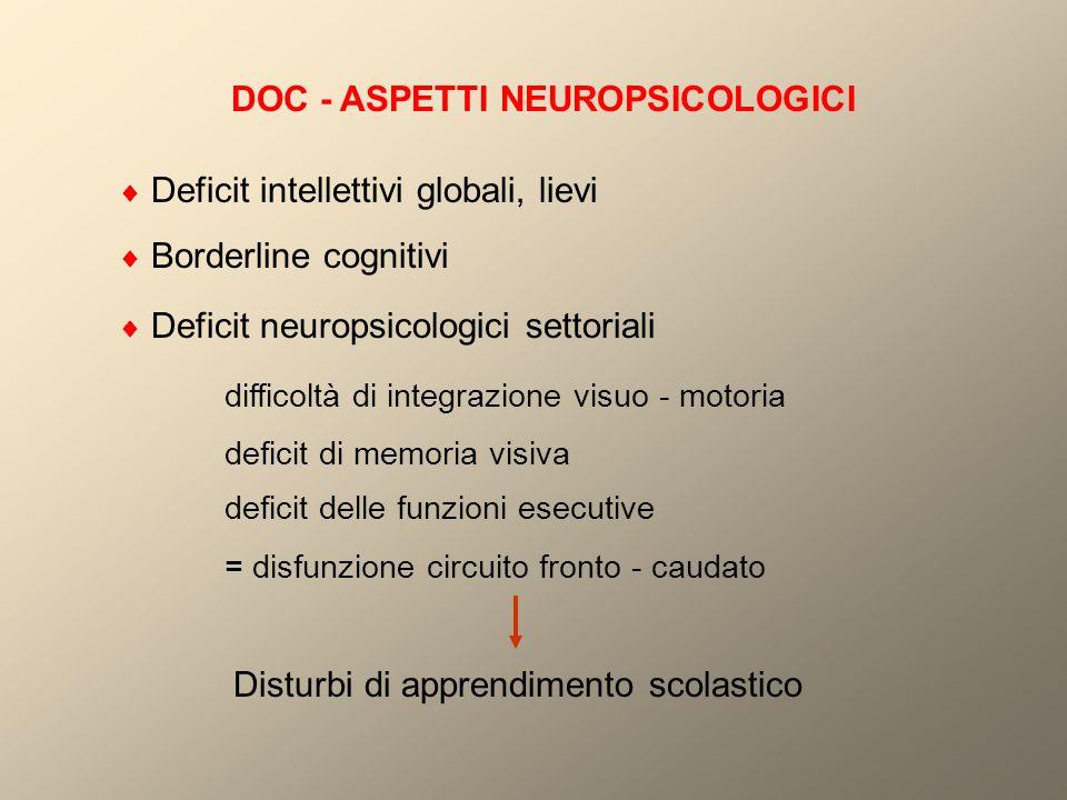 DOC - ASPETTI NEUROPSICOLOGICI