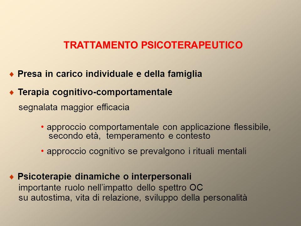 TRATTAMENTO PSICOTERAPEUTICO