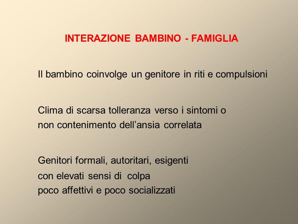 INTERAZIONE BAMBINO - FAMIGLIA
