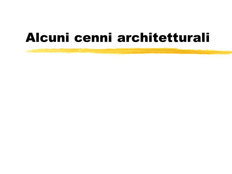 Alcuni cenni architetturali