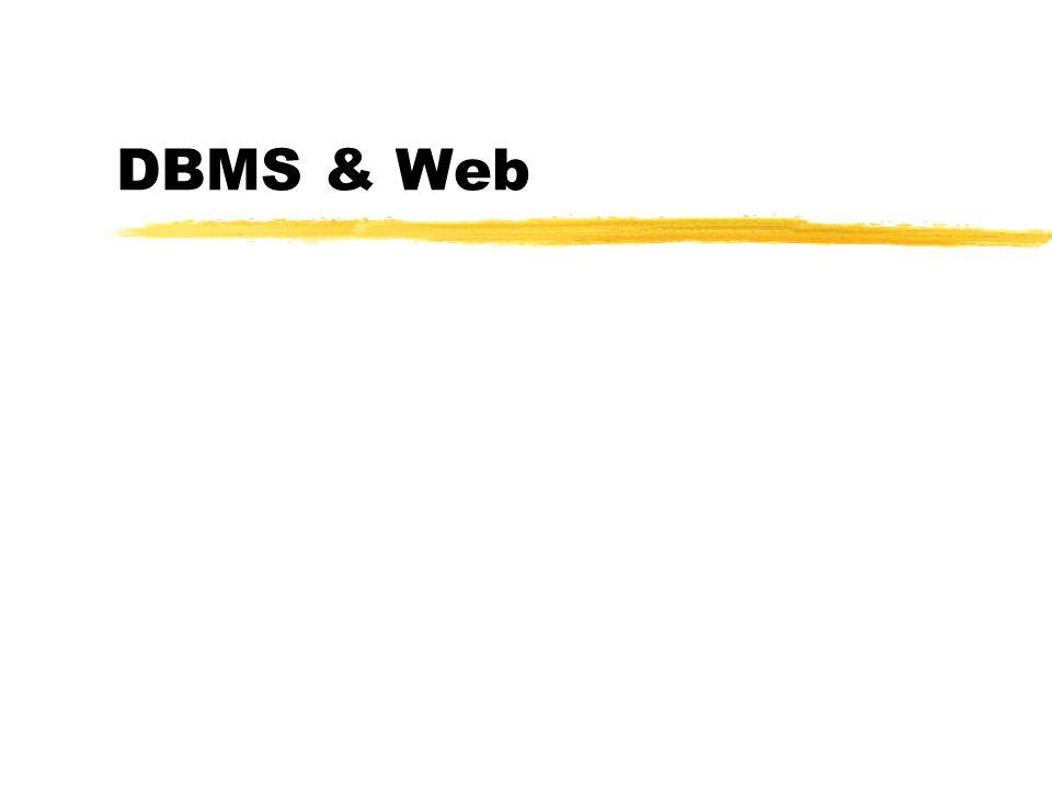 DBMS & Web